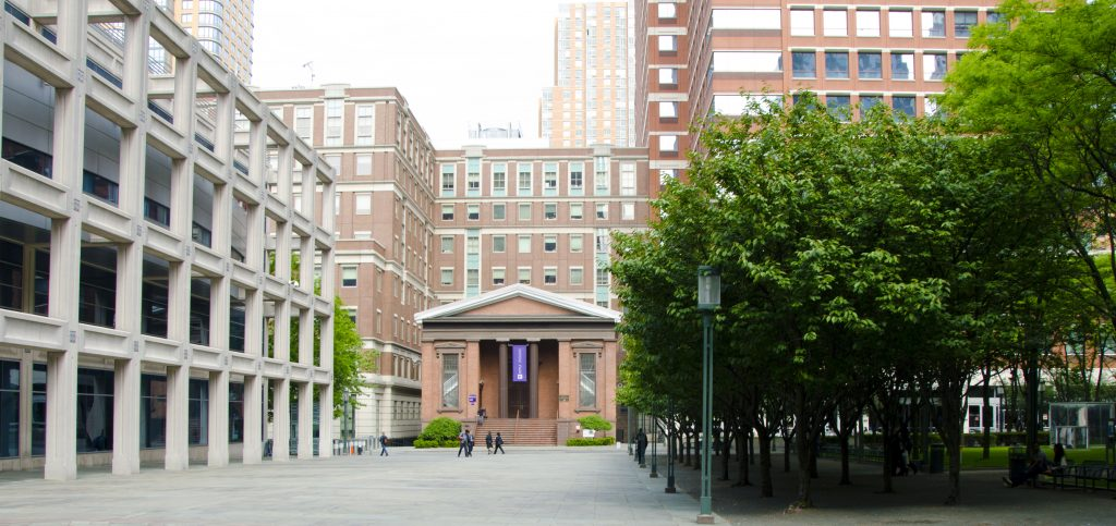 NYU Tandon Outside building